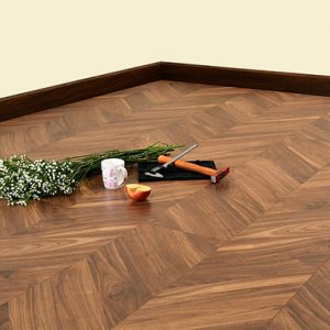 Sàn gỗ Morser xương cá dày 8mm XK142 chính hãng