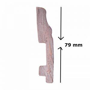 Len chân tường nhựa Hàn Quốc cao 7.9cm HPO