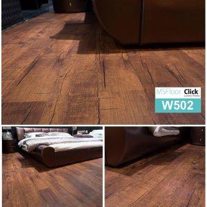 Sàn nhựa bóc dán dày 1.8mm MSFloor W502
