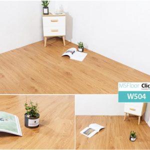 Sàn nhựa bóc dán dày 1.8mm MSFloor W504