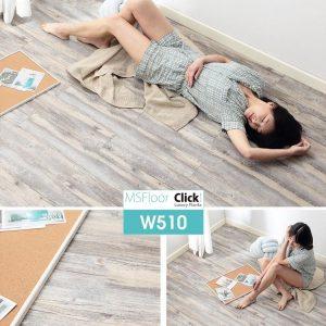 Sàn nhựa bóc dán dày 1.8mm MSFloor W510