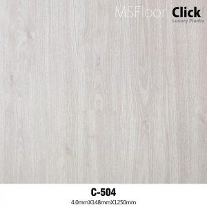 Sàn nhựa hèm khóa dày 4mm MSFloor C504
