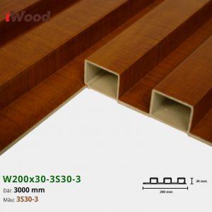Tấm ốp tường trần 3 sóng iWood 3S30-3