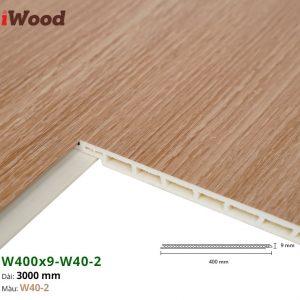 Tấm ốp tường trần iWood W40-2