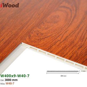 Tấm ốp tường trần iWood W40-7